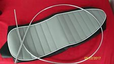 67-68 TRIUMPH MOTORCYCLE T120 GREY TOP  REPLACEMENT SEAT COVER 82-7777 UK MADE