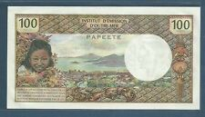 Tahiti Papeete 100 Francs, 1973, P 24b, UNC