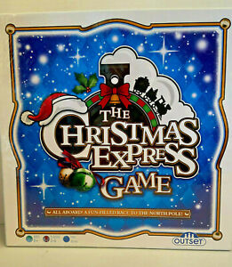 The Christmas Express Board Game Outset Media NEW