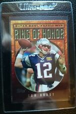 2004 TOPPS RING OF HONOR TOM BRADY NEW ENGLAND PATRIOTS SUPER BOWL CHAMPION MINT