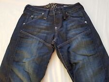 WOMENS G STAR RAW 96 ELWOOD JEANS SIZE 27