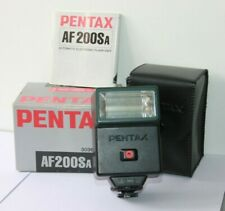Pentax AF200SA Shoe Mount Flash.For SLR Film Cameras. Tested Fully Working