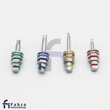 4 Dental Hex Driver Adapter For Implant Ratchet Long & Short 1.25mm & 2.42mm