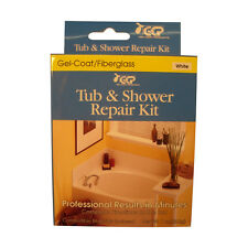 Keeney White Tub & Shower Repair Kit Gel-coat White Tub New
