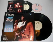 ELVIS COUNTRY HERO IN VEGAS 30/01/1971 DS 1 LP 1 CD 1 EP N° 271/500 COPY SCELLÉ