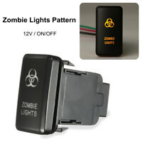 LED Driving Light Push On-Off Switch Suitable For TOYOTA Hilux Landcruiser