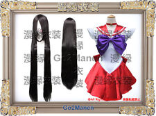 Costume+Wig B8#Super Sailor Moon Cosplay Costume Heino Rei Sailor mars