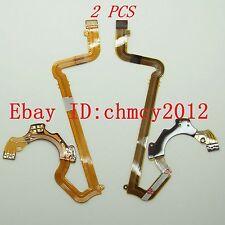 2pcs LENS Shutter Flex Cable For SONY DSC- F828 Digital Camera Repair Part