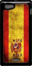 funda carcasa dura case Sony Xperia miro bandera espana