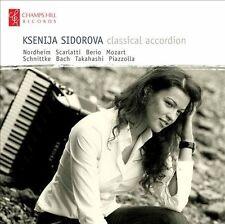 KSENIJA SIDOROVA - Classical Accordion (CD, UK, 2011, Champs Hill)