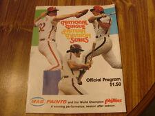 1981 Philadelphia Phillies vs Montreal Expos National League Division Series
