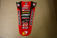 ONE INDUSTRIES HONDA REAR  FENDER  GRAPHICS CRF250R CRF 2004 2005 2006 07 08 09