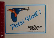 ADESIVI/Sticker: Kingfisher viaggi Petri Heil (220317169)