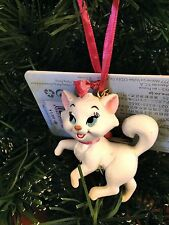 DISNEY STORE JAPAN Marie from The Aristocats Christmas Ornament NWT