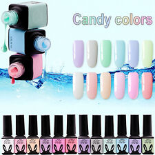 12 Color 5ml Translucent Cool Jelly CHE Gel UV LED Soak Off Nail Art Manicure CG