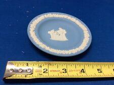 Antique/ Vintage Wedgewood Blue Jasperware Small Plate