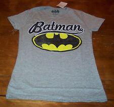 WOMEN'S TEEN VINTAGE STYLE  BATMAN DC COMICS T-shirt XS NEW w/ TAG