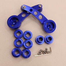 Universal Blue Crank Handles Aluminum Car Interior Manual Door Window Winders