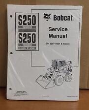Bobcat S250 Skid Steer Loader Service Manual Shop Repair Book 1 Part # 6901752