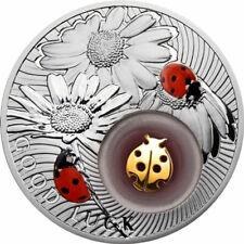 Ladybird Lucky Coins II Proof Silver Coin 2$ Niue 2012