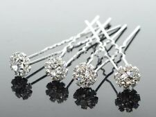 10pcs stunning crystal bridal hair pins clips hair accessories wedding party