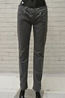 Pantalone REPLAY Donna Taglia W30 L32 Jeans Pants Woman Cotone Regular Grigio