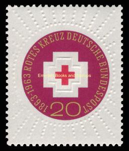 EBS Germany 1963 100th Anniversary International Red Cross Michel 400 MNH**