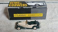 Gems & Cobwebs 1/43 Jaguar SS 1 Tourer  1934-1936 Green & Cream GC39B Hand Built