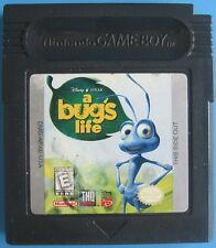 Disney's A Bug's Life  Nintendo Game Boy Color plays in Advance SP System