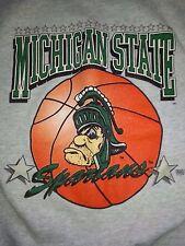 Michigan State Spartans Basketball Sweatshirt - 1990s VINTAGE