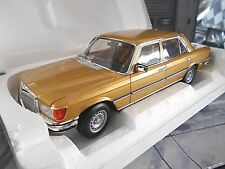 Mercedes Benz Classe S w116 450 SEL 6.9 1976 Gold Golden NOREV NEUF 1:18 limited
