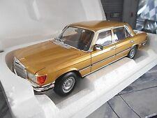 MERCEDES BENZ S-Klasse W116 450 SEL 6.9 1976 gold golden Norev NEU 1:18 LIMITED