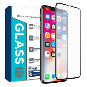 For Apple iPhone 11/XR Screen Protector Gorilla Tempered Glass Film Edge to Edge