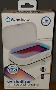 Vivitar PureMobile USB Charger & Sanitizer, small portable. Charge & Clean & Go
