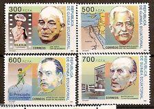 Equatorial GUINEA ECUATORIAL Edifil #192/195 ** MNH Personajes Famous people