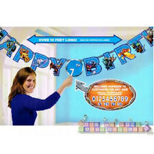 SKYLANDERS JUMBO PAPER BANNER KIT  ~ Birthday Party Supplies Decorations Boy