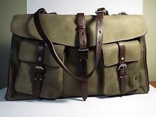BEAUTIFUL!  Tumi Satchel Hangbag Tote Suede Leather Sage (New)