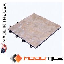 Basement Flooring Interlock Light Peak Slate - As Low As $3.98 - USA MADE