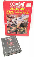Vintage Atari Combat Video Game Computer System 1978 CX2601 27 Games