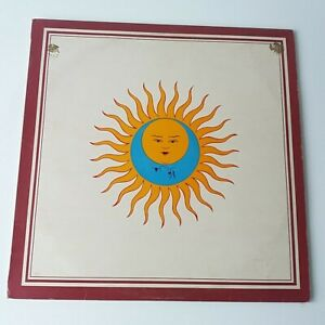 King Crimson - Larks Tongues in Aspic - Vinyl LP UK 1st Press Pink Rim EX