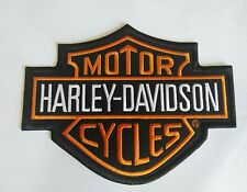 TOPPE PATCH RICAMATA TERMOADESIVA HARLEY DAVIDSON CM 18,5X14,5
