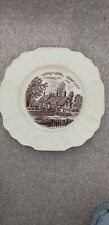 Anne Hathaway's Cottage Plate. Myott Son & Co, Hanley, est 1880.