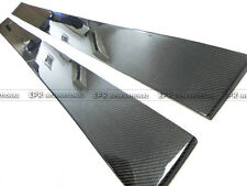 UK- 2pcs Racing Side Skirt Under Board For LEXUS 05-13 IS250 XE20 Carbon Fiber