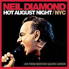 Hot August Night/NYC by Neil Diamond (CD, Nov-2009, 2 Discs, Columbia (USA))