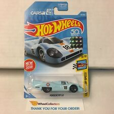 Porsche 917 LH #124 * GULF Tampo * Limited FACTORY SET 2018 Hot Wheels * F5