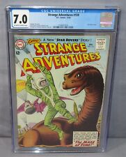 STRANGE ADVENTURES #159 (Star Rovers story) CGC 7.0 FN/VF DC Comics 1963