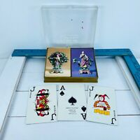 Vintage AARCO Playing Cards Complete Double Deck Grecian Sculptures 059