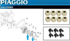 Pack 8 galets / 6 Curseurs de variateur D'origine Aprilia SRV 850 2012 ->