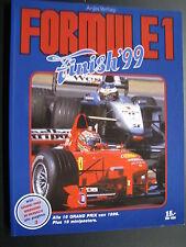 Book Formule 1 Finish 1999 door Anjes Verhey (Nederlands)