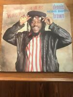 Dennis Brown ‎– Slow Down - Vinyl LP 1985